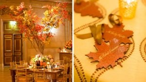 Fall is Here! And This DC Wedding Celebrates it in a BIG Way