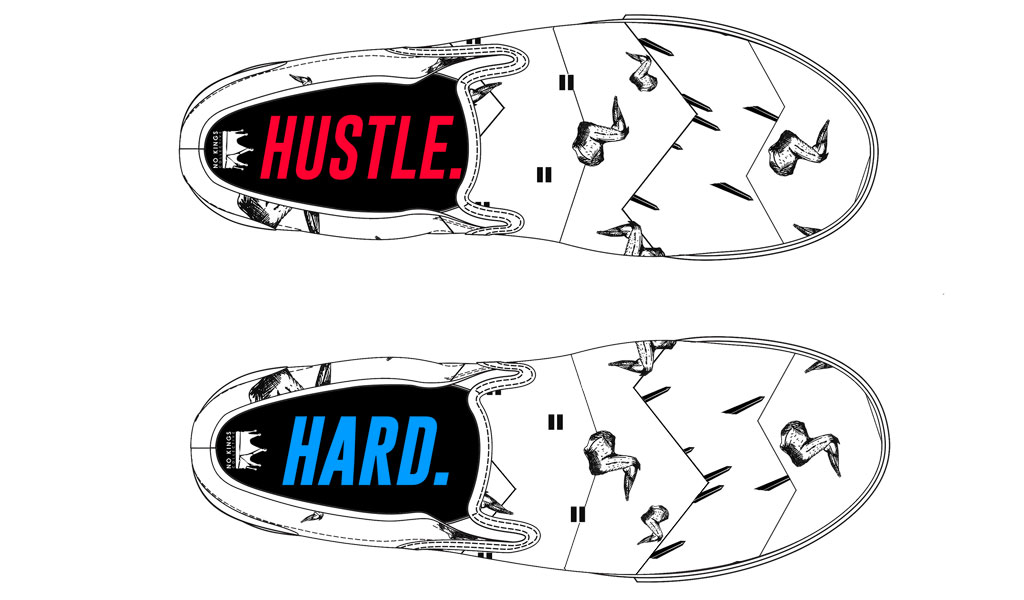 Illustration courtesy Bucketfeet.