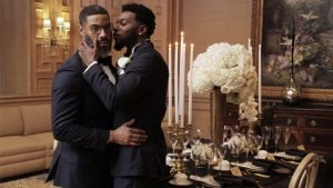 Two Supremely Dapper Grooms Star in a Harlem Renaissance Wedding Shoot at the Ritz-Carlton