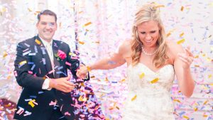 The Confetti Cannons at This Virginia Wedding are Such a Fun Surprise