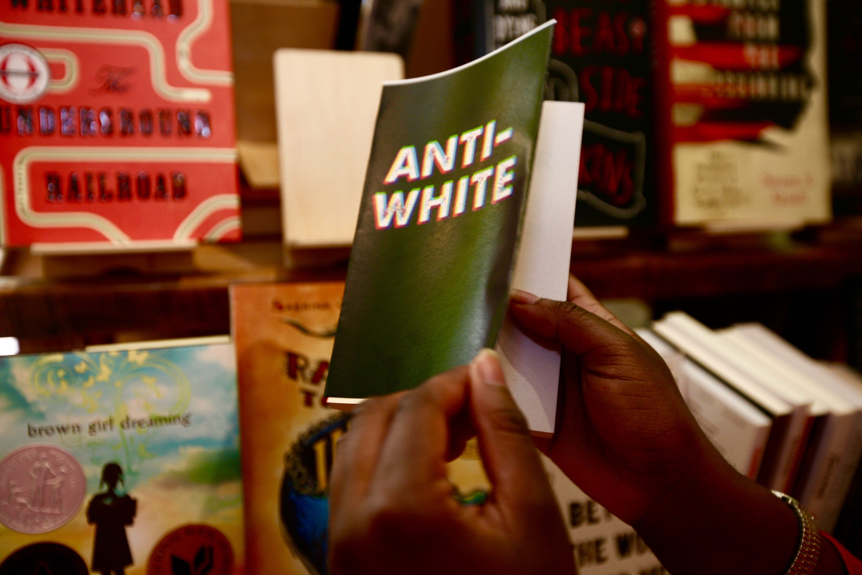"J.D. Salinger's memorable Catcher in the Rye was called ""anti-white."""