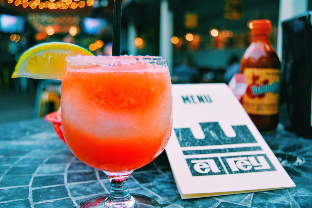 Spend a weekend afternoon over $6 margaritas at El Rey. Photograph via Facebook
