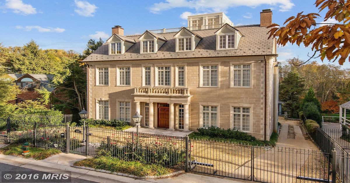 These Are The Largest Houses On The Market In Dc