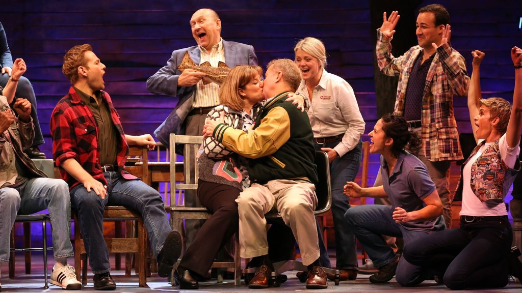 The Ford's Theatre cast of Come From Away, directed by Christopher Ashley. Photos by Carol Rosegg.
