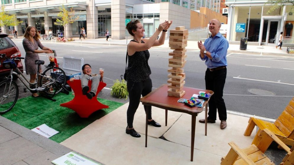 PHOTOS: Scenes From PARK(ing) Day DC 2016