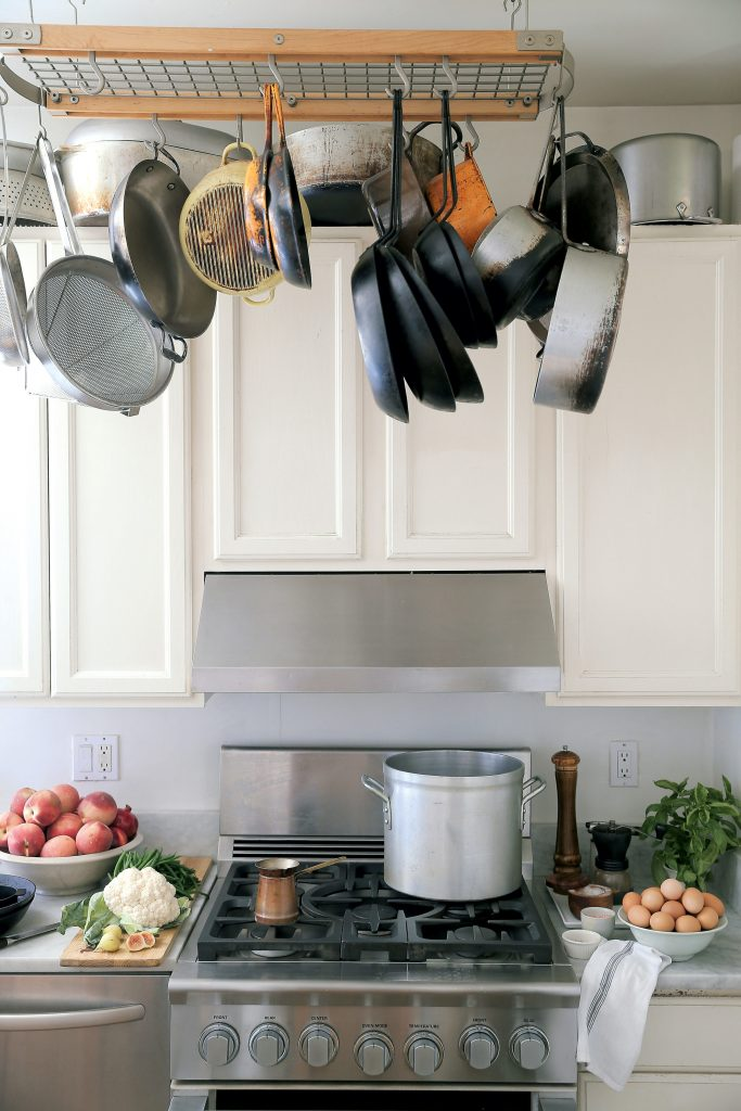 "Forman says upgrading to a Viking range was ""one of the best decisions I made."" Photograph courtesy of Williams-Sonoma."