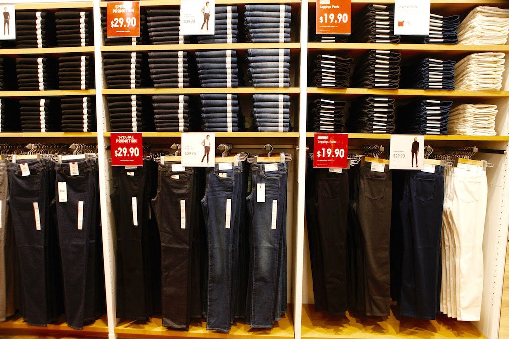Inexpensive denim is one of the best things about shopping at Uniqlo.