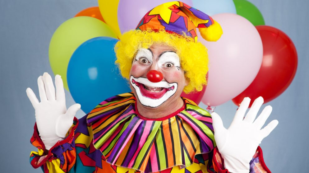 Clowns Have Had It With Your Clown Phobia