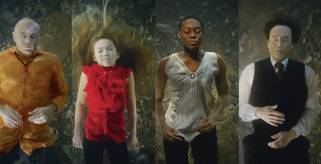 "Stills from ""The dreamers"" Courtesy of Bill Viola"