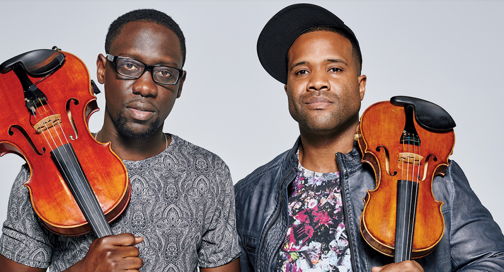 Photograph of Black Violin by Colin Brennan