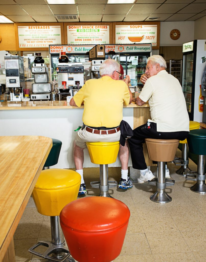 Regulars come by the Shack daily to get their fix. Photo by Scott Suchman.