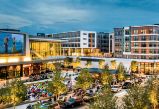 Bright Lights, Insta-city: Fairfax's vibrant Mosaic district. Photograph courtesy of DavidMadisonPhotography.com.
