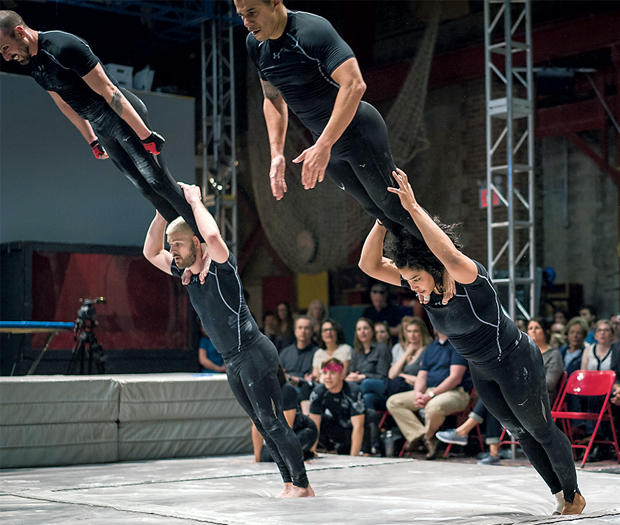Photograph of Streb Extreme Action by Josh Flannigan
