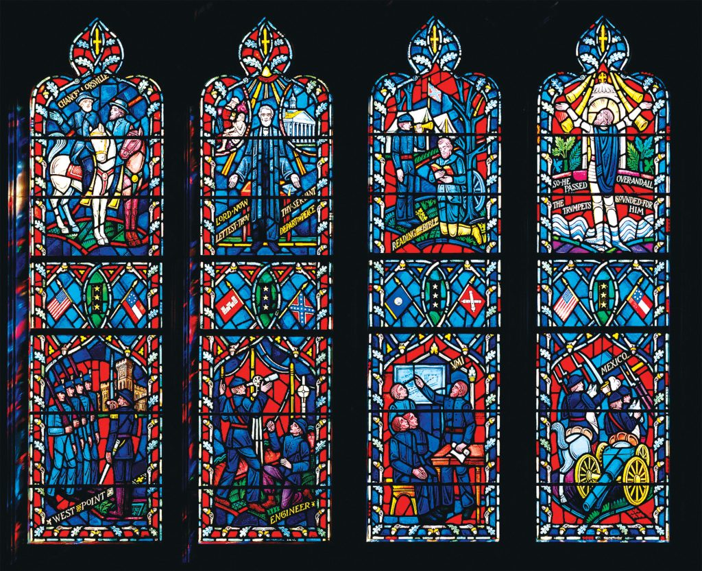 Photograph of Stained-Glass Window Courtesy of National Cathedral