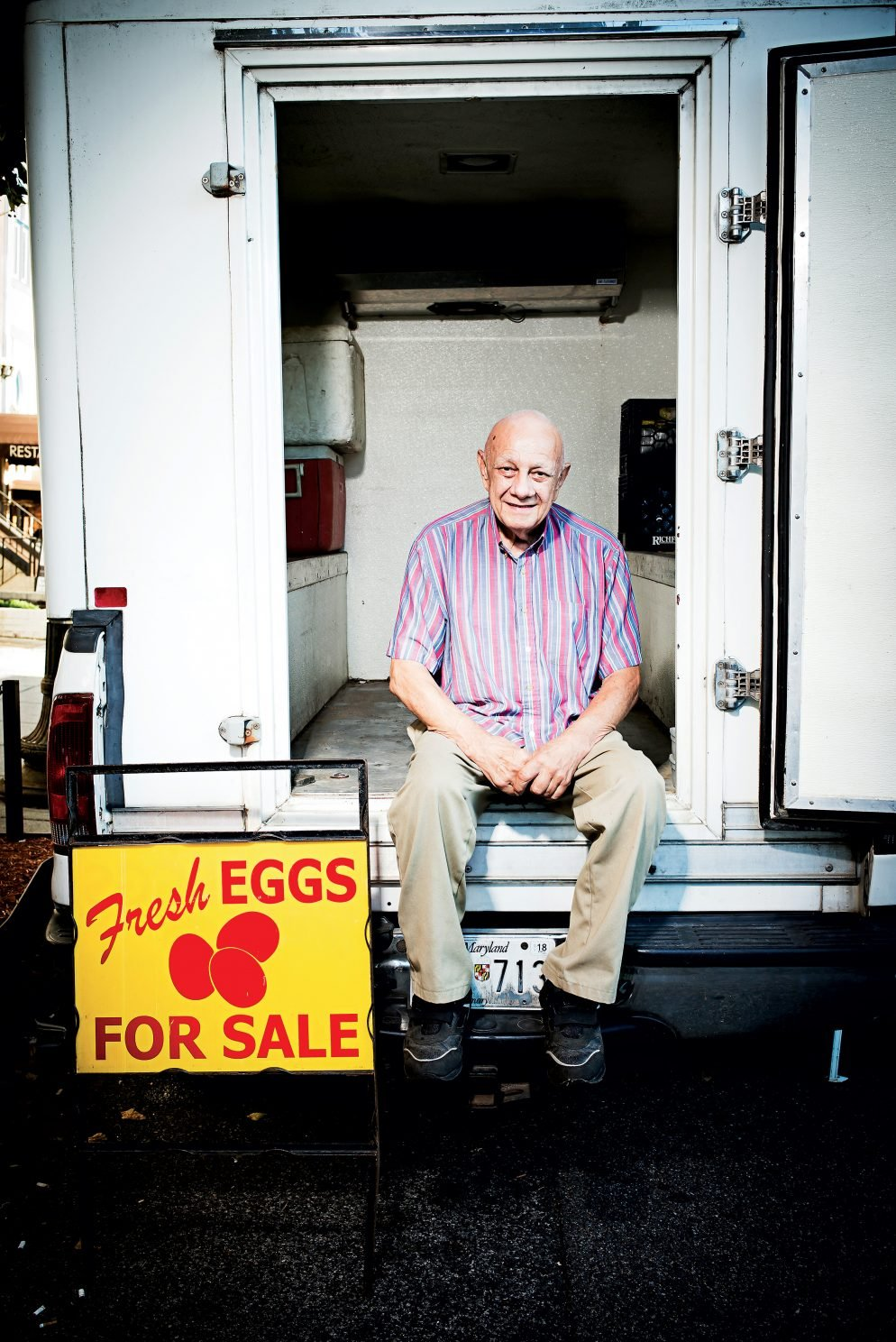 Tom the Egg Man Is Our Favorite Face at the Farmers Market