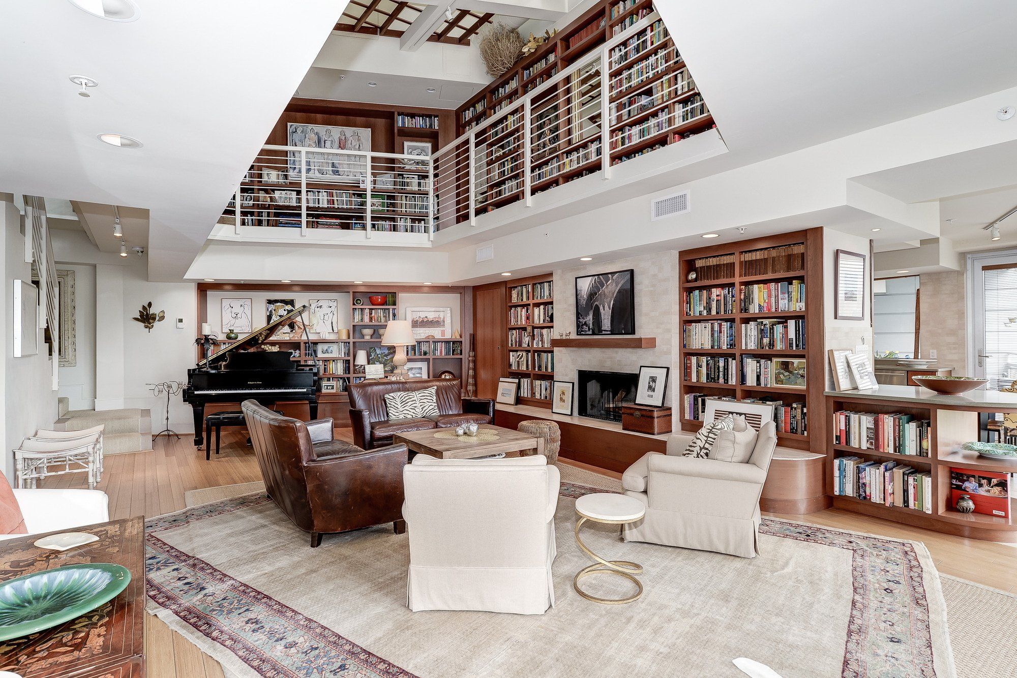 Listing We Love: This Dupont Circle Condo Represents the Platonic Ideal of a Home Library
