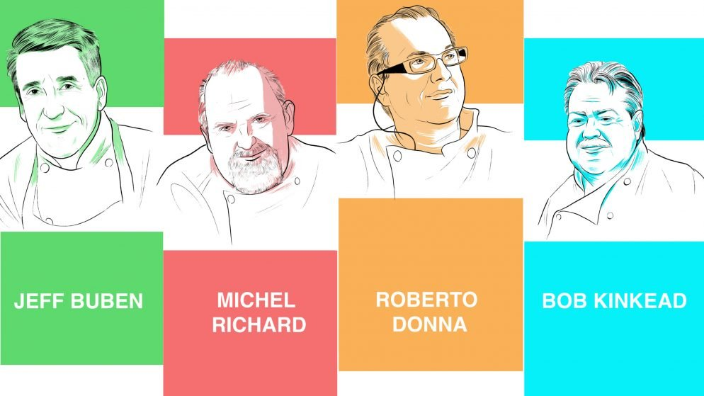Dozens of DC Chefs Have All Worked For the Same Four Dining Pioneers