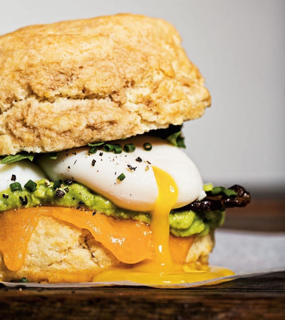 Biscuit Breakfast Sandwiches Are On the Rise
