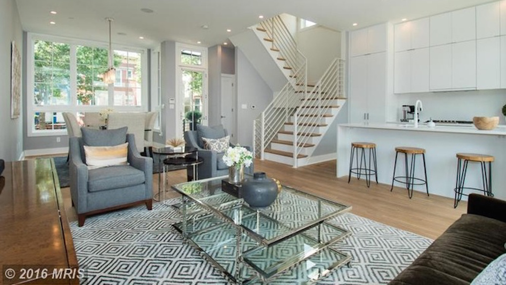 Listing We Love: This Modern Townhouse in Shaw