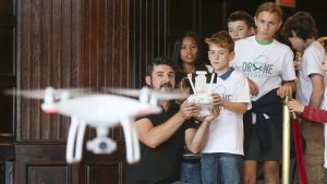 These Kids Got to Fly Drones in DC