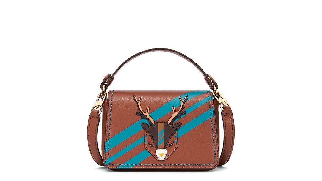Reindeer micro satchel