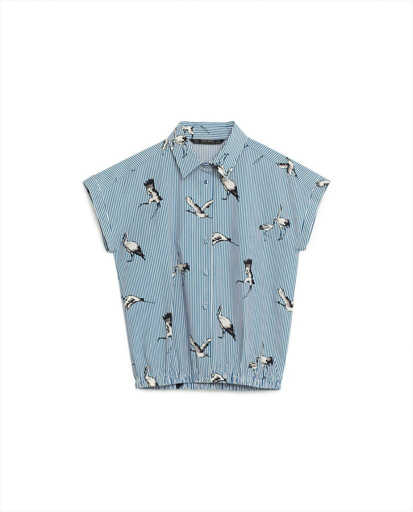 Bird blouse