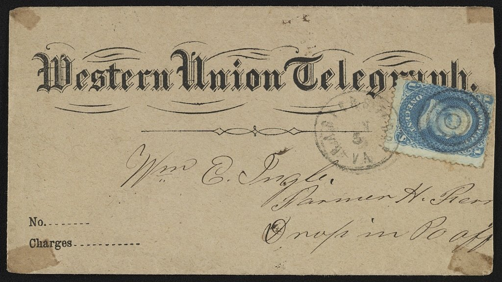 The First Transcontinental Telegram Was Sent to DC 155 Years Ago