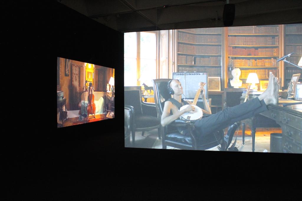 """The Visitors"" exhibit. Photo by Greta Weber."
