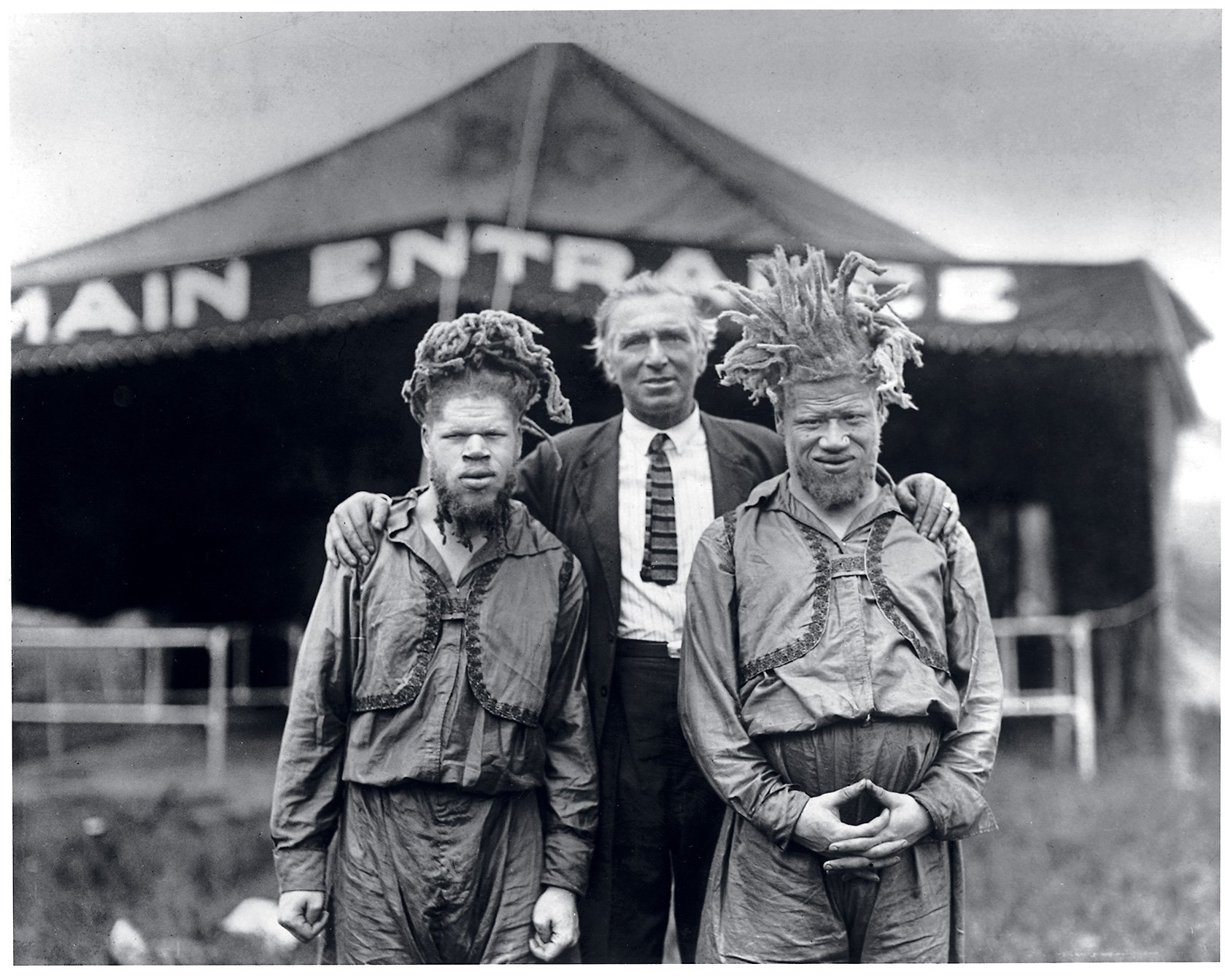 In the Early 1900s, Albino African-American Brothers Were Stolen From Their Virginia Home to Be Circus Performers. This Is Their Story.
