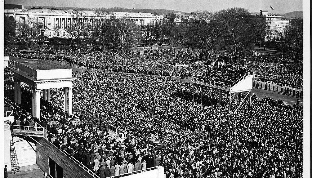 Harry S. Truman's Inauguration for a second term as President, 1949.