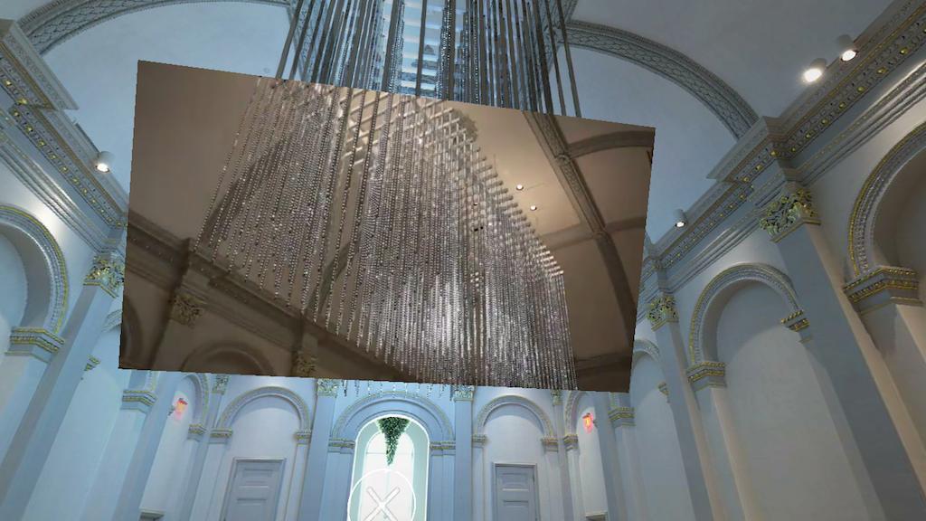 "Screenshot from ""Renwick Gallery WONDER 360"""