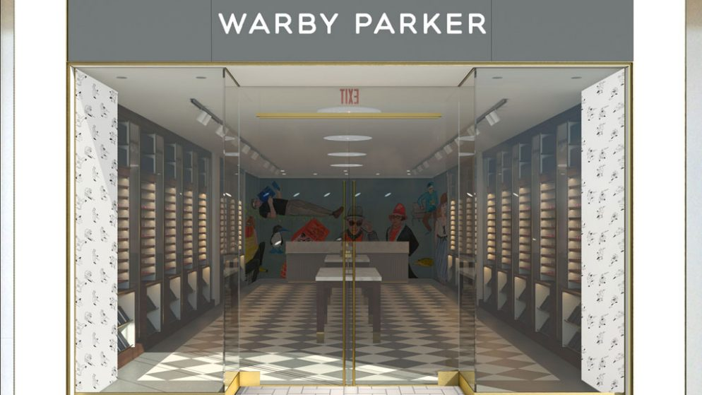 Virginia's First Warby Parker is Coming to Tysons Corner Center