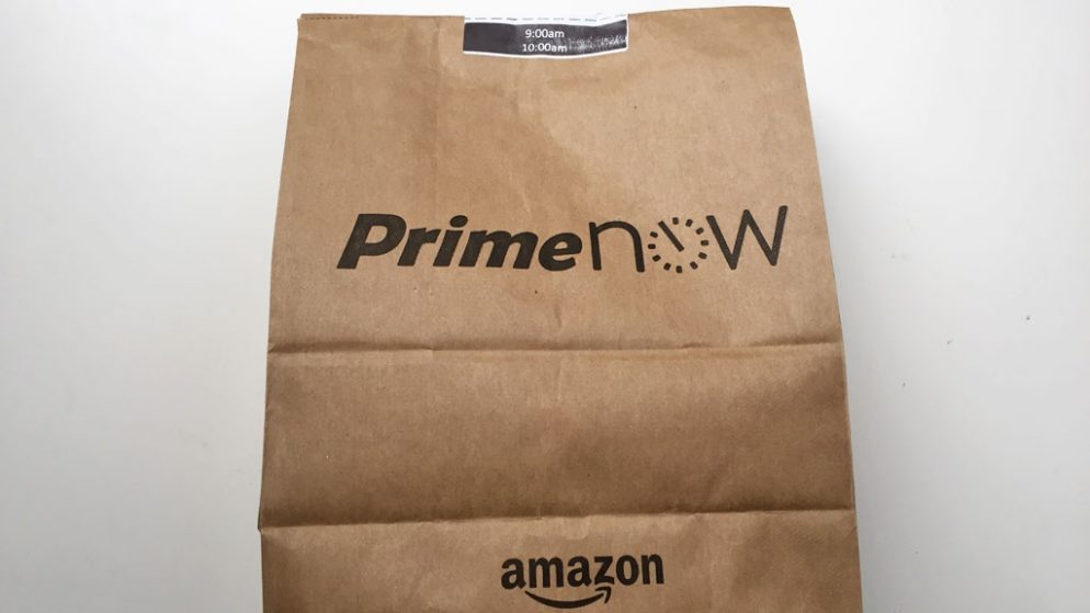 Finally! Amazon Prime Now is Available in DC