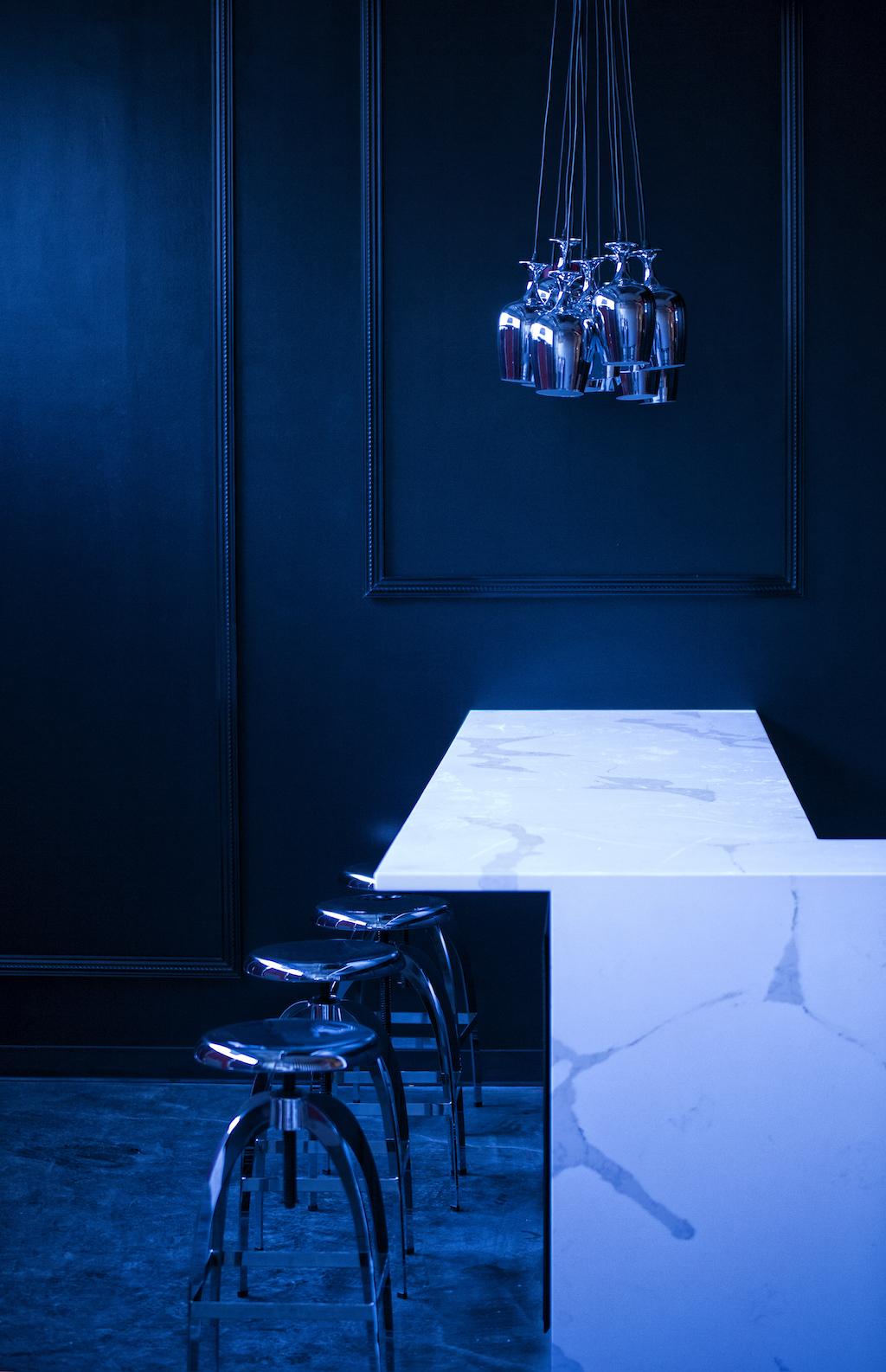 A peek inside Sip & Dry Bar's interior. Photograph courtesy Sip & Dry Bar.