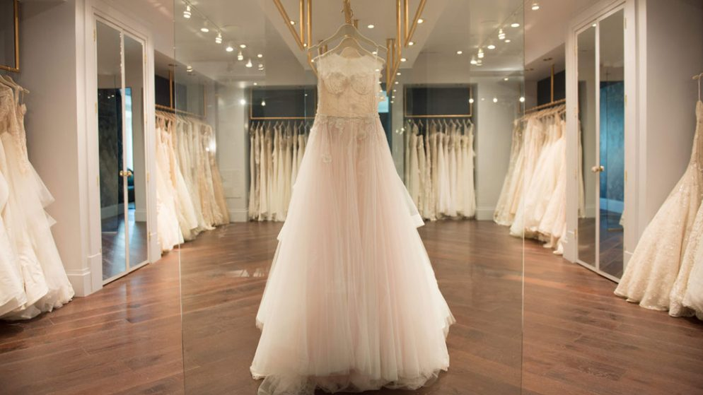 Carine's Bridal Atelier Just Added 3 Huge Bridal Lines to Its Racks