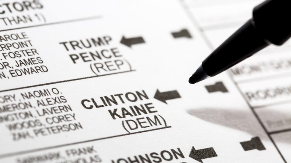 It's Okay to Share a Photo of Your Ballot in DC and Virginia, Not so Much in Maryland