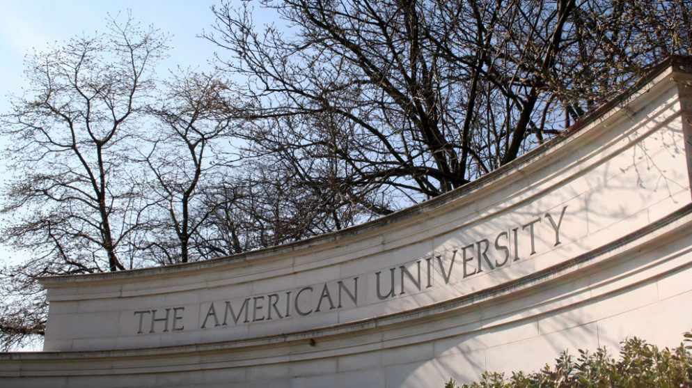 "Swastika Drawing With the Words ""Go Trump"" Reported at American University"