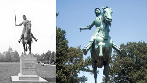 People Have Been Stealing the Sword From This Joan of Arc Statue for Over 80 Years