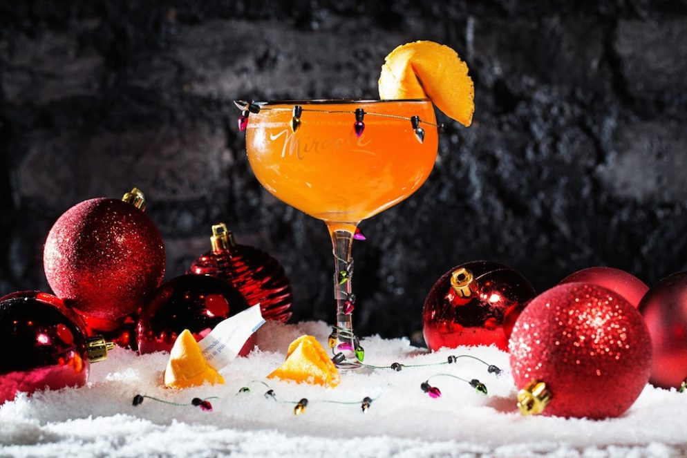 The Christmas Bar Opens Friday with Eggnog Shots, Schweddy Balls