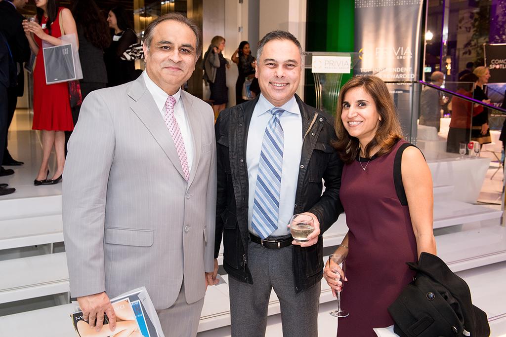 Edman Mushtaq, Anushu Guleria, and Sumi Sexton.