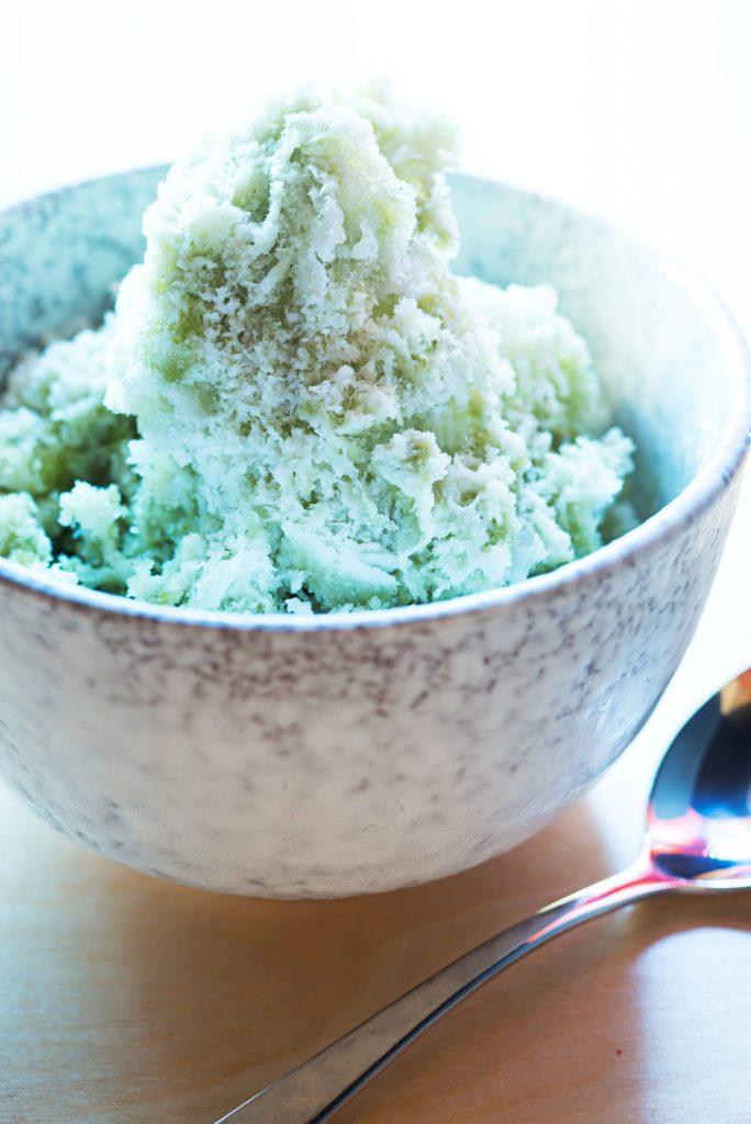 Kakigori (shaved ice). Photo by Scott Suchman.