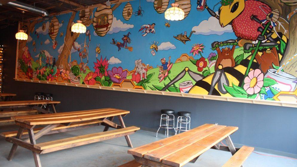 The Midlands Beer Garden Is Now Open in Park View