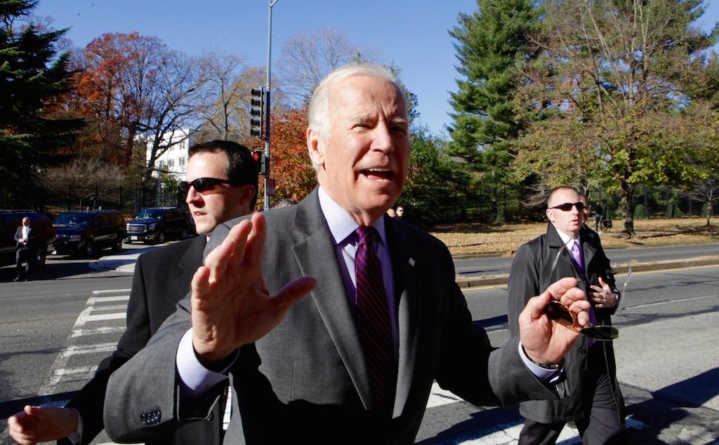 """Joe Biden: """"I'm Not Going Anywhere"""""""