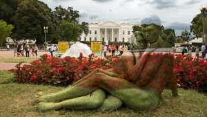 These Body-Paint Portraits in Front of DC Landmarks Will Blow Your Mind