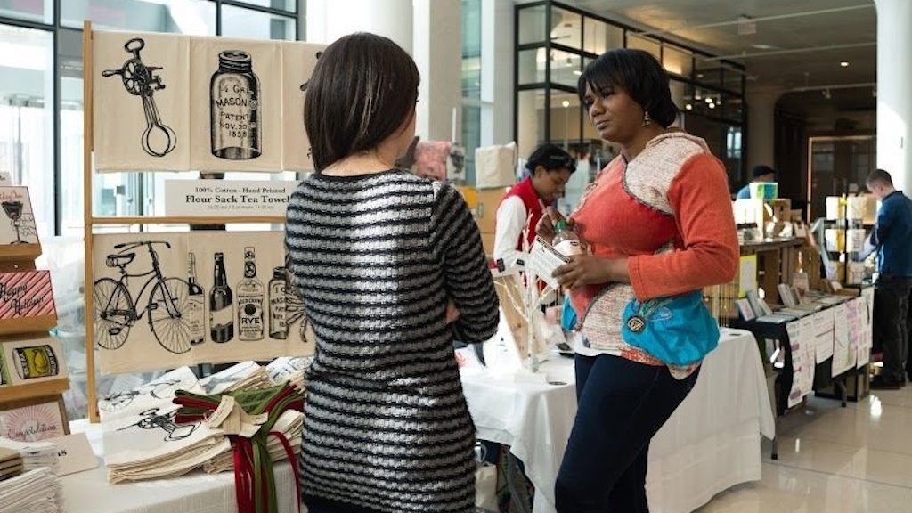 Skip Black Friday and Get Cool Local Gifts at NPR's Craft Fair on Tuesday