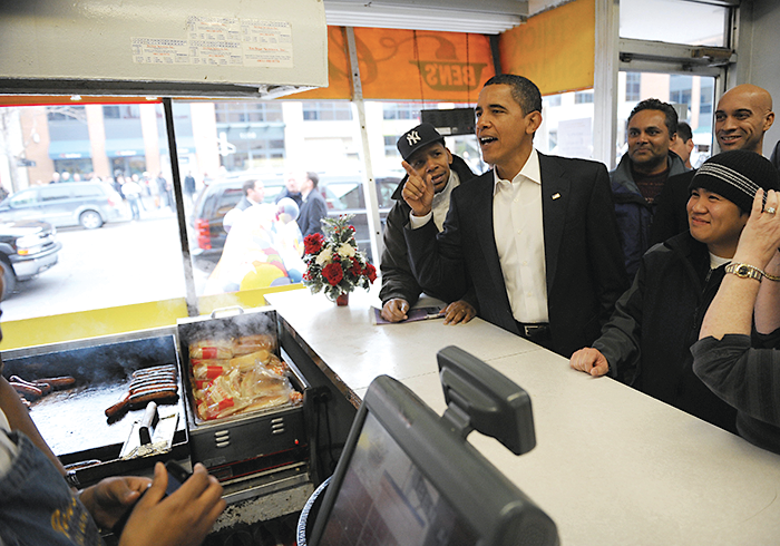 Photograph of Ben's Chili Bowl by Getty Images