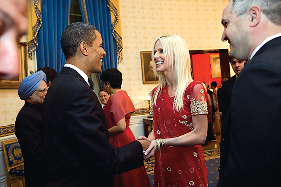 Photograph of Garden and State Dinner by Samantha Appleton/White House
