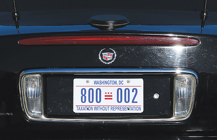 Photographs of License Plate by Getty Images