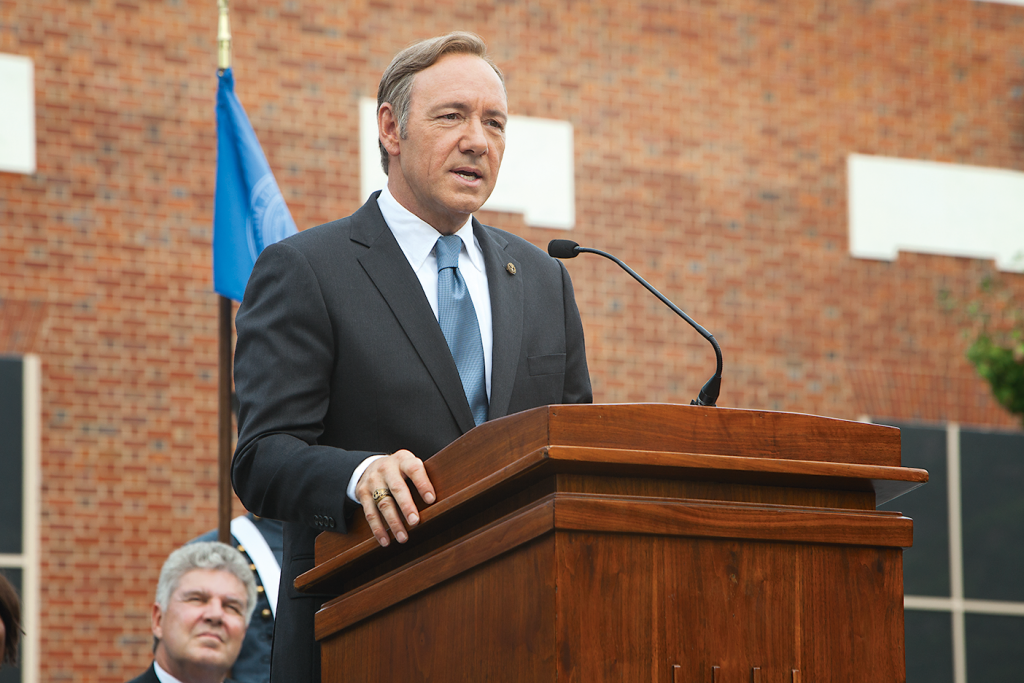 Photograph of House of Cards By Patrick Harbron/Netflix