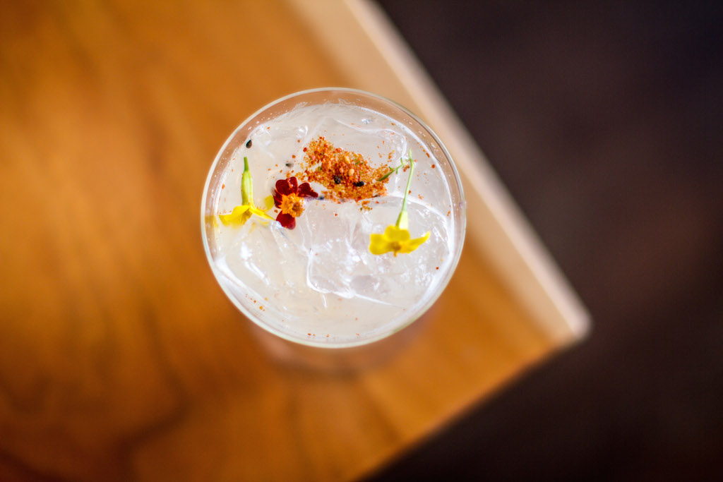 Cocktails can be paired with dishes, and sometimes inspiration from the kitchen like this togarashi-spiced sip.